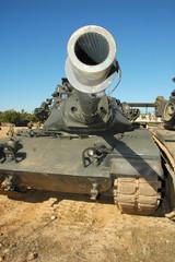 M60 tank, a main battle tank with a 105 mm main gun