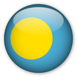 Palau Flag button poster