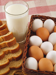 Milk, Eggs, and Bread - The Staples 9
