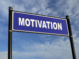 Motivation signpost poster