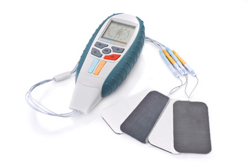 Electro Stimulation equipment used for fitness / physiotherapy.