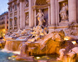 canvas print picture Trevi Fountain