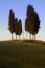 Kleiner Friedhof Toskana