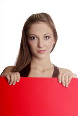 Tafel rot   red board