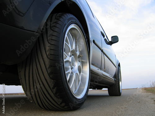 Car on road - 11654752