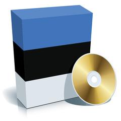 Estonian software box and CD
