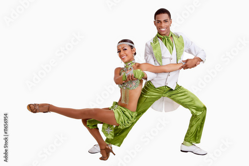Fotobehang Dance School Samba