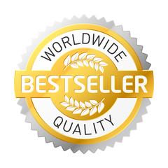 Vector bestseller label