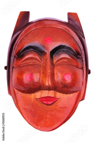 korean traditional female mask