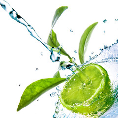 Limonka i woda