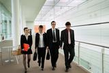 Jeunes employés dans une entreprise