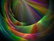 Fractal rainbow abstraction