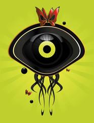 Eye character image 7