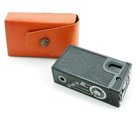 Small espionage photocamera