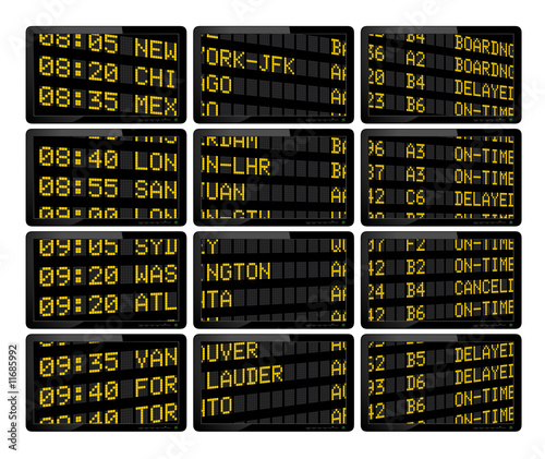 Airprt Deparures Board