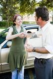 Driving Test Handshake poster
