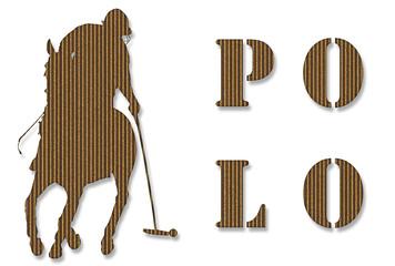 Cardboard Polo Player