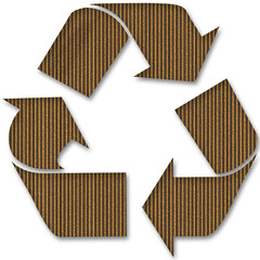 Cardboard Recycle Symbol