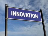 Innovation signpost poster