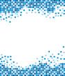 Blue mosaic background - 11691725