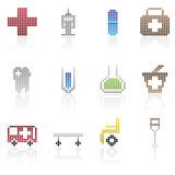 Medical Pixel Icon poster