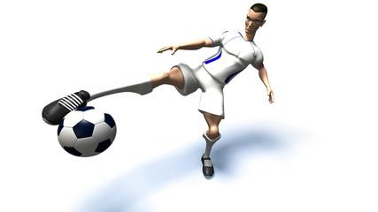 Football (avec couche alpha)
