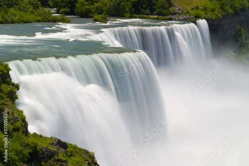 In de dag Watervallen Niagara Falls