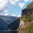 Seven sisters waterfall in Norway