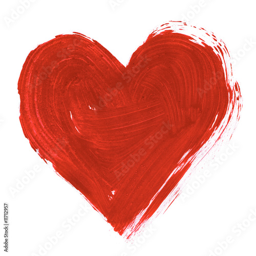 Painted heart - 11712957