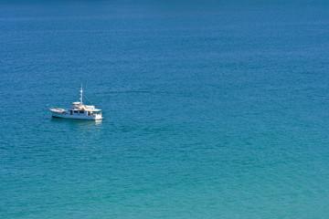 Einzelnes Boot