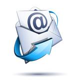 Fototapety Concept courrier électronique