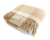 Útulný alpaka vlna deka