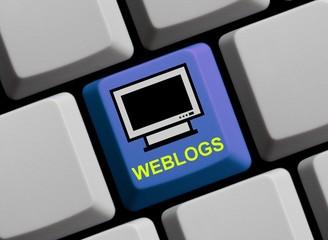 Weblogs online