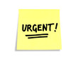Stickies/Post-it Notes: Urgent!