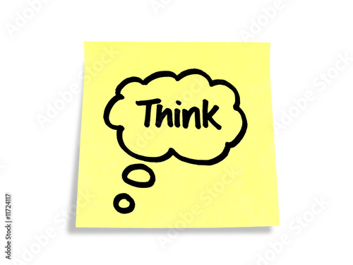 Stickies/Post-it Notes: Think