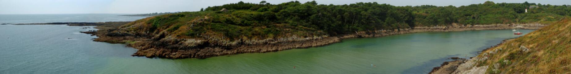 panorama à Mérrien en Finistère