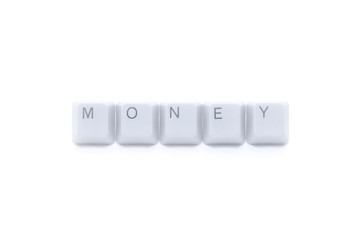 MONEY caption (sign)