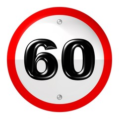 Speed limit - 60