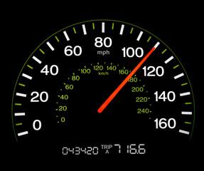 Speedometer - 110 MPH
