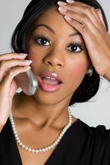 Shocked Phone Woman