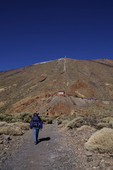 Walkin in Teide National Park