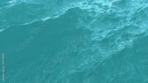 Ocean waves - slow motion loop in HD