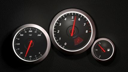 Speedometer, HD