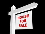 advertising sale of house poster
