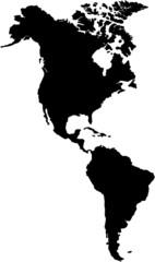 Nordamerika und Südamerika