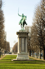 Monument to the general Lafayette. Paris, France