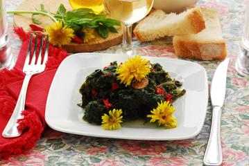 Insalata cotta mista - Cucina alle erbe e fiori