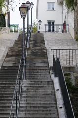 escalier montmartre paris