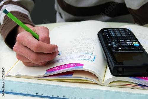 Scolarité - Etudier en classe