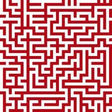 Motif de labyrinthe sans soudure